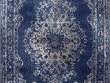Dark Blue Persian Rug Dara Rugs 3931 Dark Blue oriental 5 X 7 area Rug Carpet New
