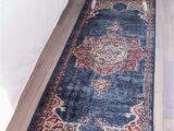 Dark Blue Rug Runner 2 X 6 Arcadia Runner Rug