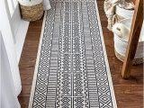 """Dark Blue Rug Runner Well Woven Dinah Dark Blue Tribal Geometric Runner Rug 2×7 2 3"""" X 7 3"""""""