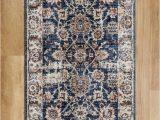 Dark Blue Runner Rug Alhambra 6549a Light Dark Blue Runner Rug