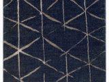 Dark Brown and Blue area Rug Baylee Global Dark Blue Dark Brown area Rug