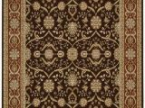Dark Brown and Gold area Rugs Nourison Persian Crown Pc001 area Rug
