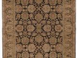 Dark Brown and Gold area Rugs Safavieh Old World Collection Handmade Dark Brown and Gold