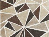 Dark Brown and Grey area Rug Modern Geometric Brown Beige Dark Grey area Rugs – Modern