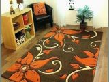 Dark Brown Bathroom Rug Sets Gleaming Burnt orange Rugs Elegant Burnt orange