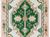 Dark forest Green Bathroom Rugs Traditional Meets Boho with Our Exclusive Phoenix Rug the