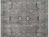 Dark Gray and White area Rug Safavieh Vintage Vtg 442 area Rugs