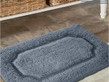 Dark Gray Bath Rugs Add A Color and fort to Your Bathroom Dark Grey Tufted