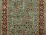 """Dark Green area Rug 5×7 Jaipur Green Hand Knotted 4 10"""" X 7 1"""" area Rug 905"""
