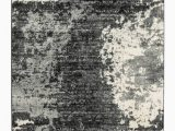 """Dark Grey and White area Rug Roskos Black Gray and White area Rug 60""""x84"""""""