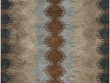 Dark or Light area Rug Rizzy Home Tumble Weed Loft Collection Wool area Rug 3 X 5 Multi Gray Dark & Light Rust Khaki Light Brown