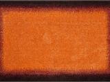 Dark orange Bathroom Rugs Bathroom Rugs Avalon orange Black Grund