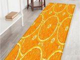 Dark orange Bathroom Rugs orange Pattern Anti Skid Floor area Rug Floor area Rugs