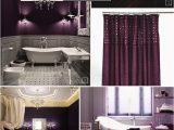 Dark Purple Bath Rugs Color Guide Purple Bathroom Ideas and Designs Purple