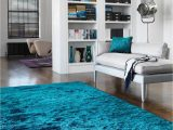 Dark Teal area Rug 5×7 Whisper Dark Teal Rug