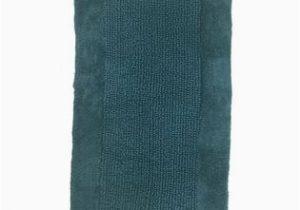 Dark Turquoise Bathroom Rugs Threshold Chunky Textured Dark Turquoise Blue Bath Rug