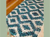 Dark Turquoise Bathroom Rugs Vintage 2031 5 Inch Turquoise Antiskid Bathroom Rug