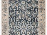 Deep Blue area Rug Bellamy oriental Dark Blue & Light Gray area Rug – Burke Decor