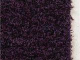 Deep Purple Bathroom Rugs Shag Rug