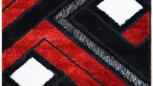 Deep Red Bathroom Rugs Black and Red Bathroom Rugs