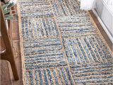 Denim and Jute area Rug Braided Denim Jute area Rug Hand Woven Outdoor Rug