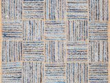 Denim and Jute area Rug Extra 6 X 8 Braided Denim Jute area Rugs for Vozeli