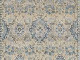 Diamond Scroll Blue Rug Blue Vines Scrolls Ovals Diamonds Contemporary area Rug Floral An5
