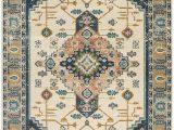 Diamond Scroll Blue Rug Swift Power Loom Royal Blue Rug