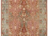 Diva at Home area Rugs Diva at Home 2 X 3 Ambrosia Nectar Pink Sherbert Burnt