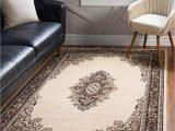 Does Roomba Go Over area Rugs Unique Loom Reza 9 12 Feet 9 X 12 Mashad Ivory area Rug