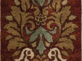 Does Roomba Work On area Rugs Katie Floral Red Brown area Rug