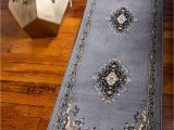 Does Roomba Work On area Rugs Unique Loom Reza 2 8 Feet 2 X 8 Runner Mashad Gray area Rug