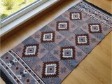 Double Sided Bathroom Rugs Secret Sea Collection Mexican area Rug Double Sided Washable 2 5 X 6 Brown Grey