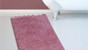 Dusty Rose Bathroom Rugs Cotton Bath Rug 270 Lace Dusty Rose