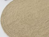 Eco Friendly Bath Rug Beautiful Eco Friendly Round Jute Rug for Scandinavian