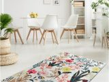 Eco Friendly Bath Rugs Flower Garden Rectangular Home Decor Rug Antibacterial soft Bath Mat Rug Eco Friendly Gift for Her Various Sizes Available