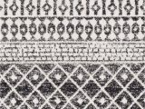 Edie Black and White Bohemian area Rug Online Shopping Bedding Furniture Electronics Jewelry