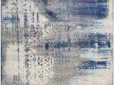Elara Blue Gray area Rug Kas Rugs Watercolors Rug