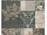 Elegance Linen 8×10 area Rug Elegance Collection 8 X 10 area Rug In Grey Turquoise Linon Rug Ee3381