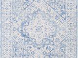 Elliot Blue area Rug Elliot Hand Hooked Wool Pale Blue Ivory area Rug