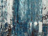 Elliot Blue area Rug Elliott Abstract Blue Gray area Rug