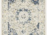 Elson Ivory Gray area Rug Elson oriental Ivory Blue area Rug
