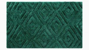 Emerald Green Bathroom Rug Set Thick Pile Emerald Green Bathmat This Large Bathroom Floor