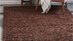 Extra Large Living Room area Rugs Bravich Rugmasters Chocolate Brown Extra Rug 5 Cm Thick Shag Pile soft Shaggy area Rugs Modern Carpet Living Room Bedroom Mats 160 X 230 Cm