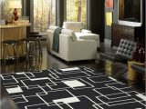 Extra Large Living Room area Rugs Milliken Contemporary Geometric Black and area Rug