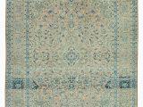 Extra Large Square area Rugs 9×11 Beige Turkish Vintage Wool area Rug 2460