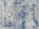 Faded Blue area Rug Bosphorus Faded Shadow Mystique Blue Rug Square Rugs Blue