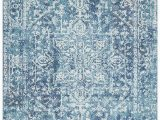 Faded Blue area Rug Faded Blue area Rug Carpet Capers Modern and Traditional