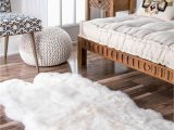 Faux Fur area Rug Walmart Nuloom Hand Made Quarto Luxe Sheepskin area Rug Walmart