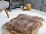 Faux Fur Navy Blue Rug Flair Freja Faux Fur Rugs In Brown Online From A29 95 Free